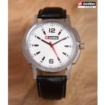 Lotto White Classic Dial Watch