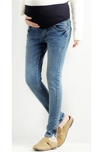 Slim-fit maternity denim pant, medium