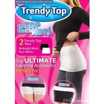 Slim N Lift Trendy Top ( Set of 2   Black, White)