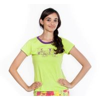 Kokopelli Women tee, green, xs