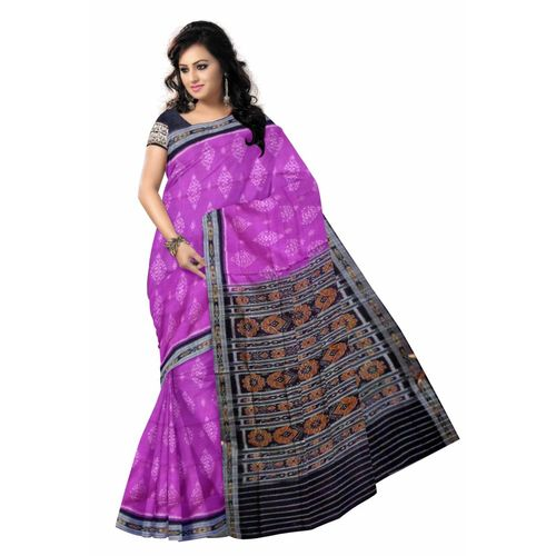 OSS3581: Buy Cotton Saree from Sambalpur without Blouse