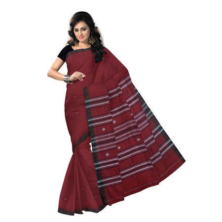 OSS274: Simple kotpad Cotton Saree with Flower