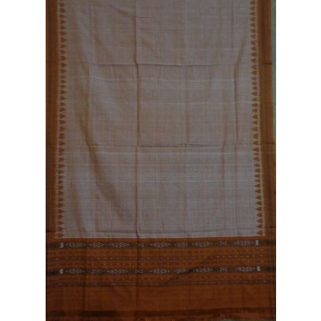 OSS3572: Light Brown Dupatta for Young Girls for office wear