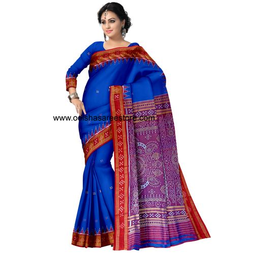 OSS5051: Pasapalli Design Silk Saree made in handloom