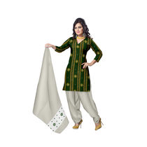 OSS270: Exclusive traditional Indian handloom fabrics dress material suitable for casual wear
