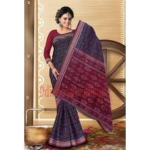 OSS300: Simple Cotton Saree by best hand loom weavers