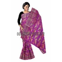 OSSWB067: West Bengal cotton sarees with embroidery motifs