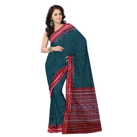 OSS045: Beautiful coloured handloom sari made by best handloom weavers