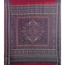 OSS5030: Silk Sari for mother-in-law in wedding for gift