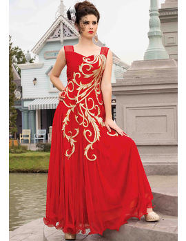 Cenorita Red Gown