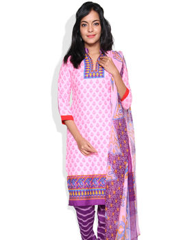Choice Pink Color Chudidhar Material