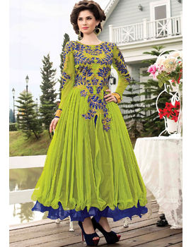 Victoria Green Gown