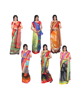 Sahana 6 Kota Saree Collections