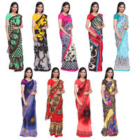 Manasa 9 Georgette Saree Collections