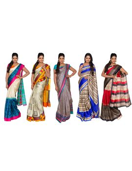 Arputha 5 Bhagalpuri Saree Collection