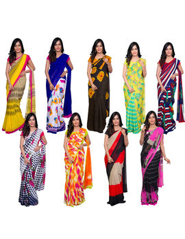 CHANDRIKA 9 GEORGETTE SAREE COLLECTION