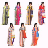 Aradhana 7 Crepe Unstitched Chudidhar Material