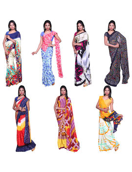 COMBO 97 GEORGETTE 7 SAREES
