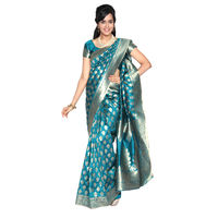 Arundathi Green Banarasi Silk Saree