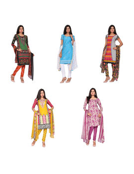 Sweety 5 Unstitched Chudidhar Material