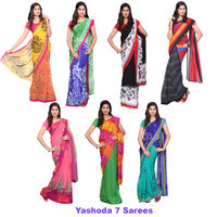 Yashoda 7 Saree Collections