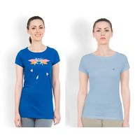 DUSG Women's T-Shirt Combo Pack 2, s