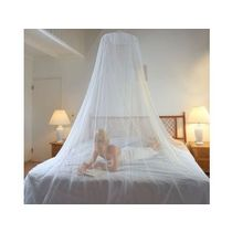 HANGING MOSQUITO NET WITH PULLING UP SYSTEM FOR DOUBLE BED