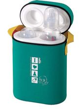 FARLIN Insulated Bottle Holder Double- GREEN