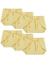 Advance Baby Nappy - Yellow (Pack Of 6) - Mini