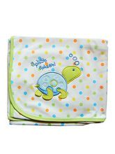 Little Swimming Turtle Print Baby Wrapper