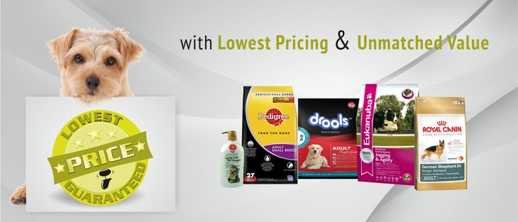Pet Products Lowest Price Guaranteed