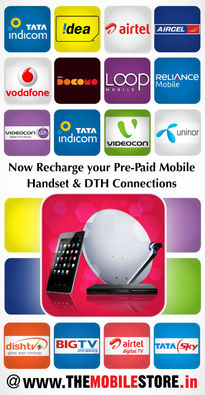 Mobile & DTH Recharge 5% off – TheMobileStore