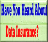Have you Head about data insurance?
