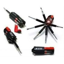 8 In 1 Multi Screwdriver With LED Portable with Torch
