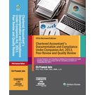 Chartered Accountant' s Documentation and Compliance Under Companies Act, 2013, Peer Review and Quality Review 5E