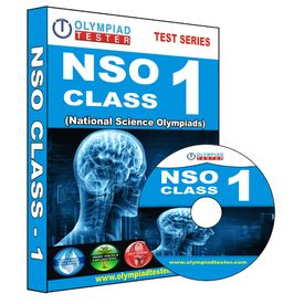 Class 1- National Science Olympiad (NSO) preparation- Practice test series (CD)