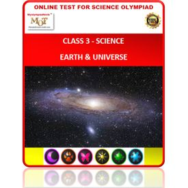 Class 3, Earth & Universe, Science Olympiad online test