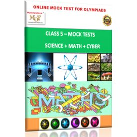 Class 5, Online Mock tests, Maths+ Science+ Cyber