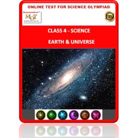 Class 4, Earth & Universe, Online test for Science Olympiad