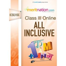 Class 3, ICSE/ISC Online course- All inclusive (MT- 3- SC)