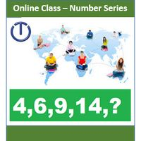 Online Class- Mental Ability (Number Series) for Class (1 to 6) - 1 Hour