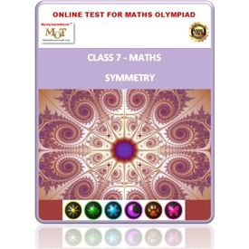 Class 7, Symmetry, Online test for Math Olympiad
