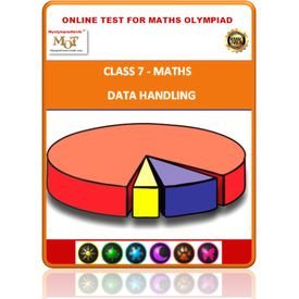 Class 7, Data handling, Online test for Math Olympiad