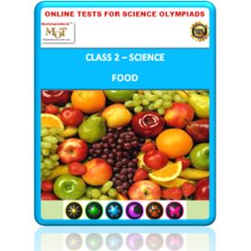 Class 2, Food, Online test for Science Olympiad