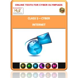 Class 5, Internet, Online test for Cyber Olympiad