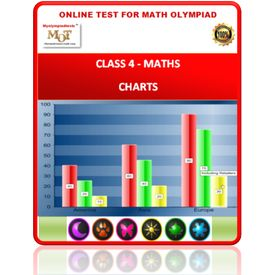 Class 4, Charts, Online test for Maths Olympiad
