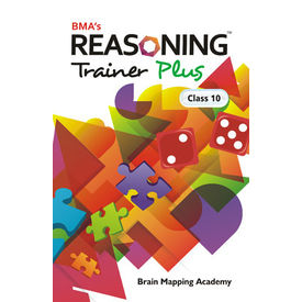 Class 10- Reasoning trainer plus (with solution book) , Mental Ability