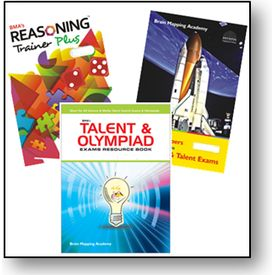 Class 6- Bma s Talent & Olympiad Exams Resource Book+ Model Papers+ Reasoning trainer (With Solution book)