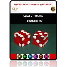 Class 7, Probability, Online test for Math Olympiad