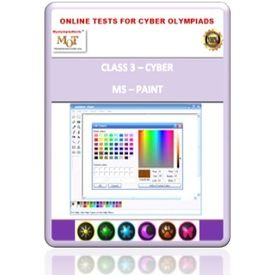 Class 3, MS Paint, Online test for Cyber Olympiad